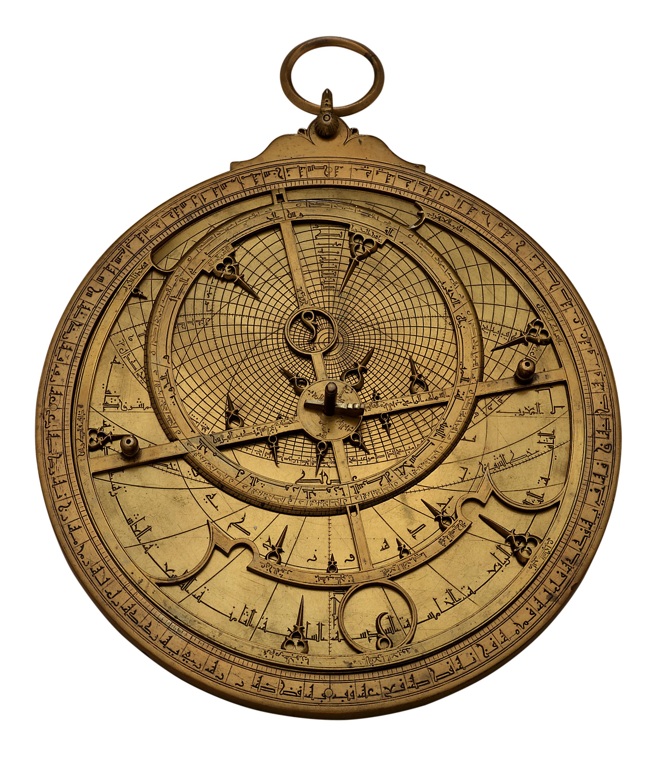 Muhammad ibn al-Fattuh al-Khama'iri, Astrolabe, 1236 – 1237, Courtesy of Adler Planetarium