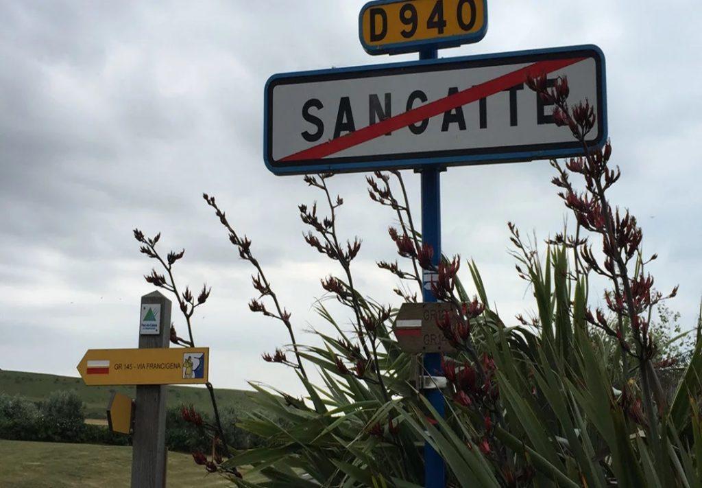 Sangatte, Pas-de-Calais, France, site of camp, 1999-2002. June 2017